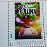 Cool als Collina postzegel
